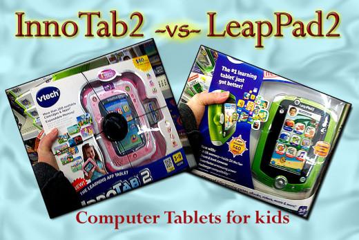 InnoTab2 vs LeapPad2