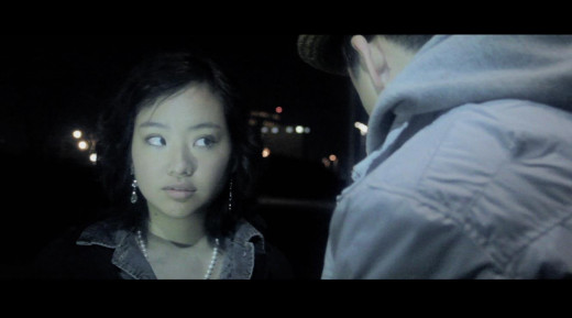 Hana Ohira played Kelly and that character was very hard to portray. She's cold-hearted, confused, and money grubbing. As an actress, Hana performed the character exactly as my writing --  becoming a deceptive and wayward woman.