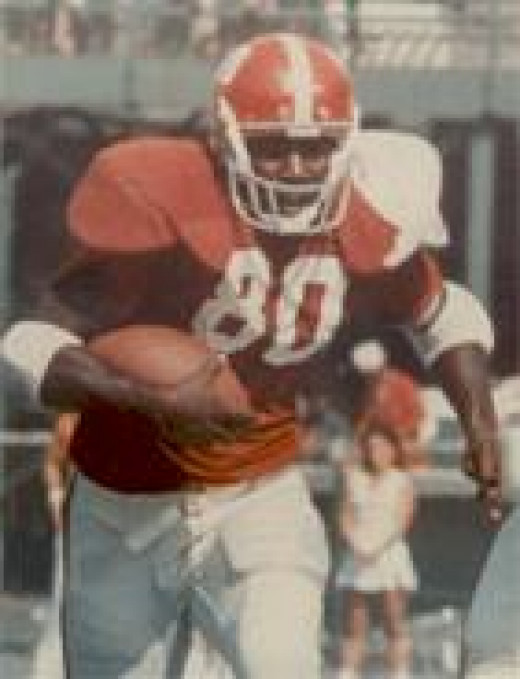 Wilbur Jackson, the first Black student offered a scholarship to sign with The University of Alabama Crimson Tide.