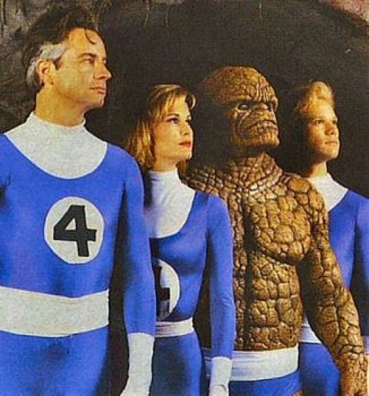 Fantastic Four cast from 1994 Film