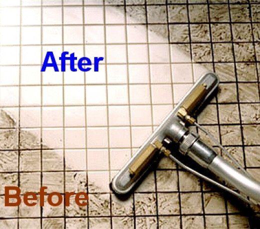 Cleaning Grout Between Tiles