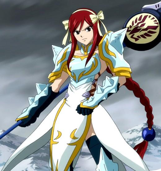 Erza Scarlet's Lightning Empress Armor