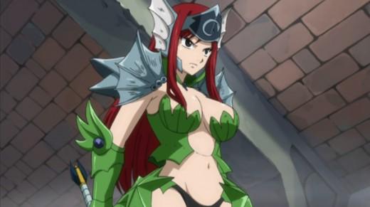 Erza Scarlet's Sea Empress Armor