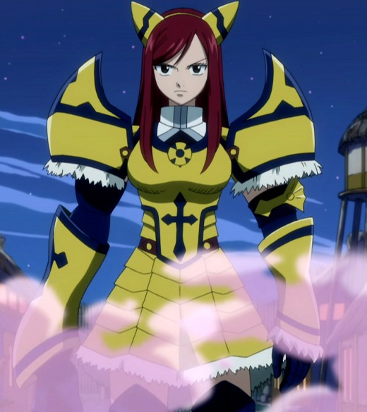Erza Scarlet's The Giant's Armor