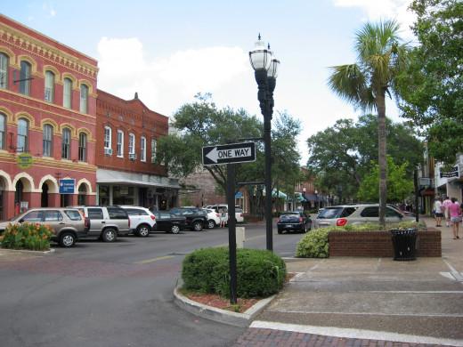 Fernandina Beach - downtown