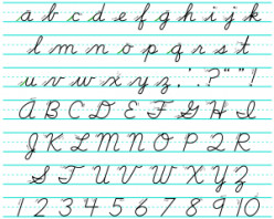 Cursive writing may go the way of the abacus.  Will literacy go with it?