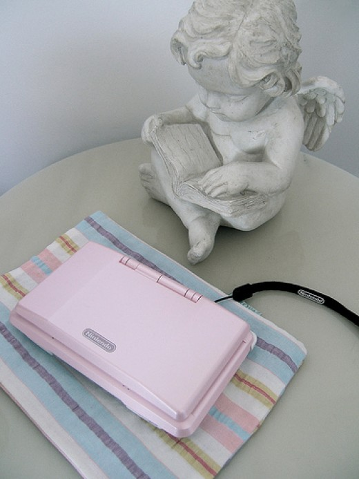Pink DS Console