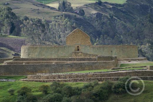 the Inca site of Ingapirca