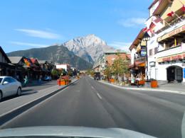 Banff Avenue, downtown Banff