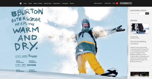 Burton's Official Company & Product Website