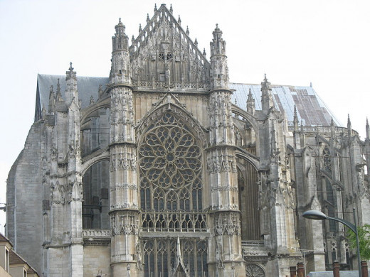 Cathedral of Beauvais, South view