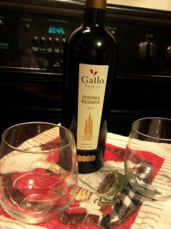 Gallo Family Vineyards: Sonoma Reserve 2005 Merlot