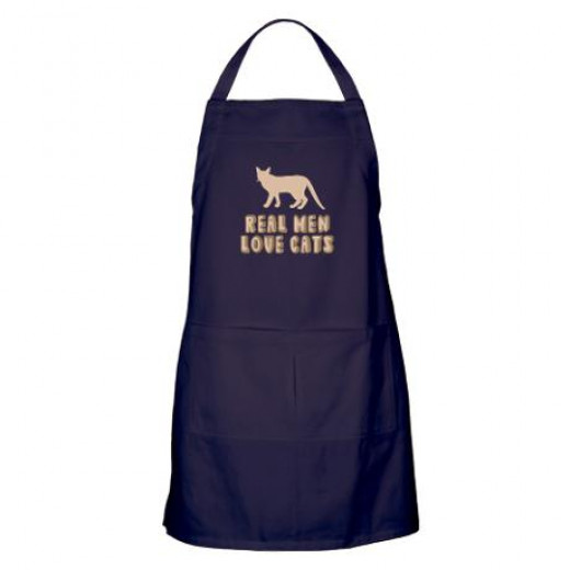 One of my favorites - real men love cats, and cook!