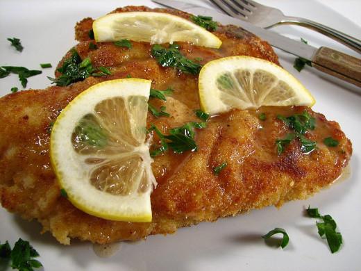 Chicken Piccata, Italian Style