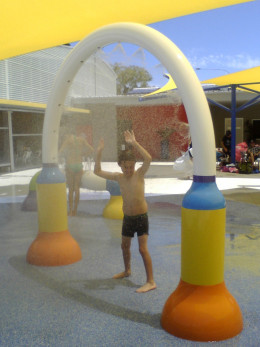 The Coffs Harbour Public Pool is a great swim spot for the little ones.