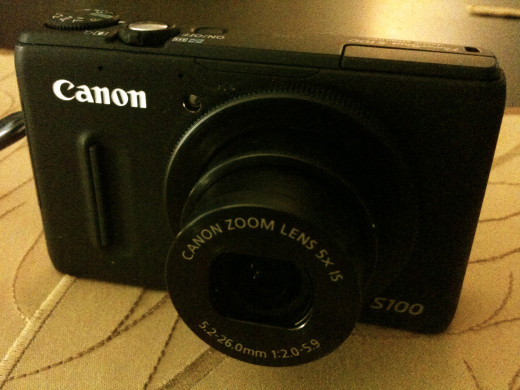 A photo of my Canon s100... taken with my iPhone