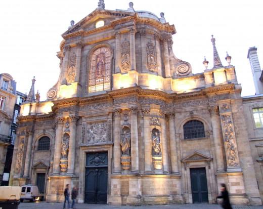 Eglise de Notre Dame in Bordeaux