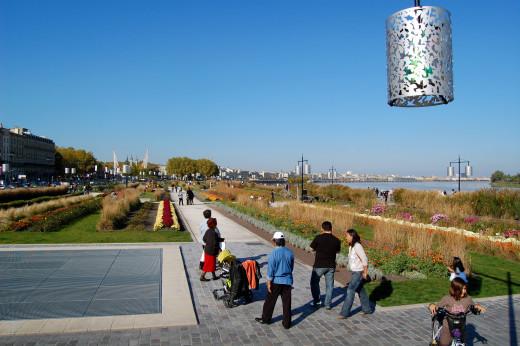 Jardin des Lumiers in Bordeaux