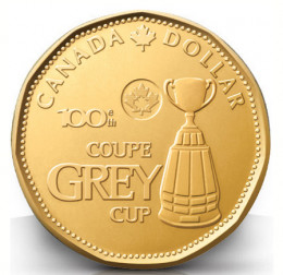 Available at Canada Post locations or just watch for it to turn up in your change.