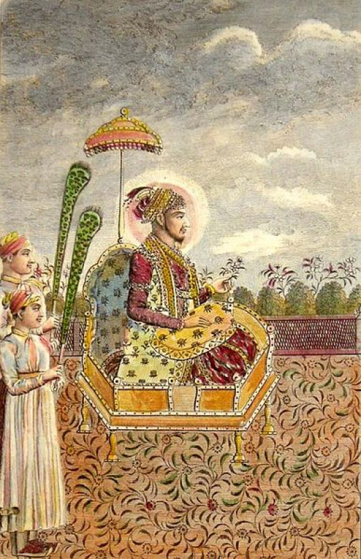The Mughal Emperor Sham Alam II fought against the British East India Company between 1760-1764.