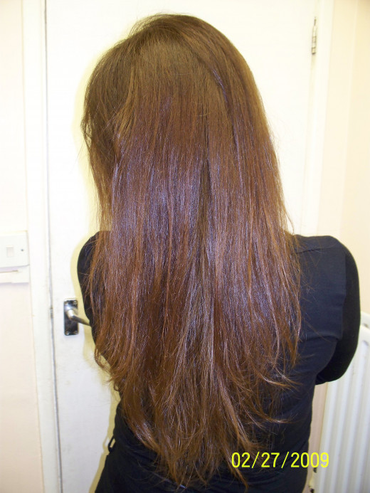 Who does not want to have a beautiful and healthy hair? An example of a beautiful hair!