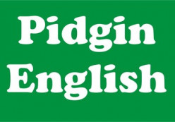 Pidgin English of Hawaii