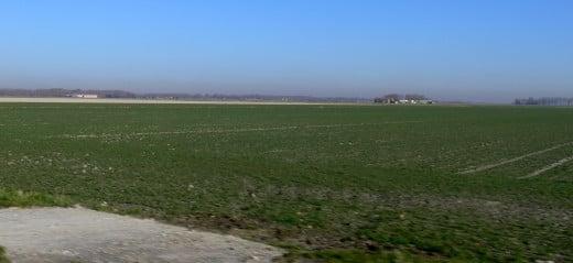 Landscape of Les Moëres, Maritime Flanders