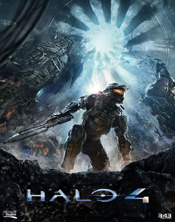 Promotional art for Halo 4