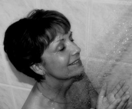 Activate the enzyme action by using ExfoliKate in a steamy shower!