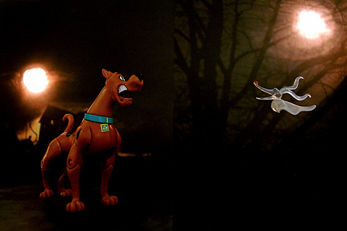 Scooby Doo can be frightening to young children