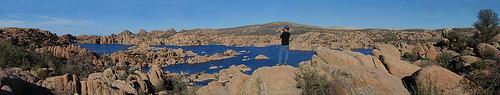 The Granite Dells near Prescott AZ