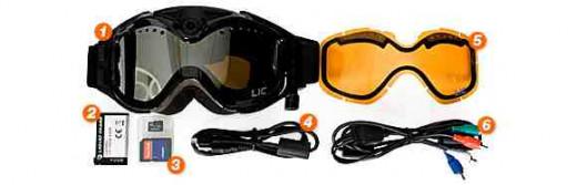 HD Video Ski Goggles