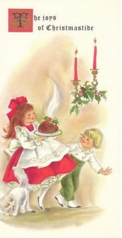 History of Christmas Plum Pudding