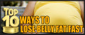 Top 10 Best Ways to Lose Belly Fat Fast