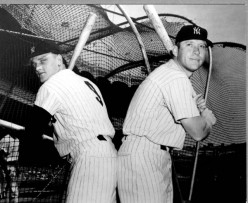 Mickey Mantle and Roger Maris's Relationship During the Home Run Record Race of '61
