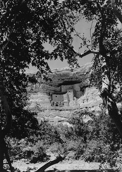 Montezuma Castle in 1935