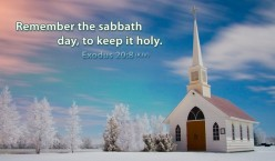 Remembering God's Holy Sabbath