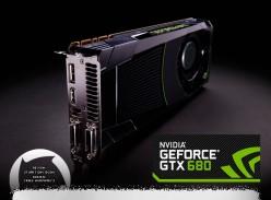 Nvidia GTX 680 card