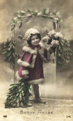 The Charm of Vintage Christmas Cards
