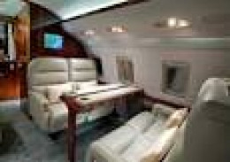 One of the newly purchased private jets of the messangers of Jesus Christ!