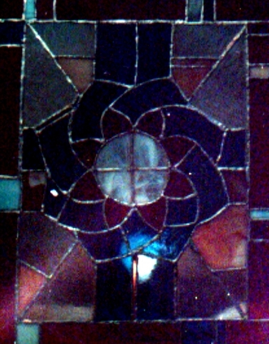 A stained glass of beauty in your memory