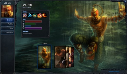 Lee Sin does not need vision to split push.  He can sense the enemy.