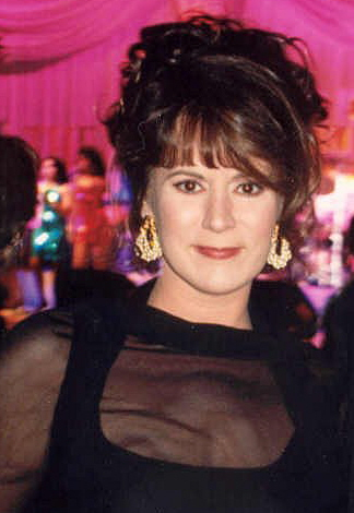 Patricia Richardson after the 1994 Emmy Awards