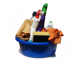 Cleaning products cost the average American family around $650 per annum - make cleaning your home more affordable with our tips!