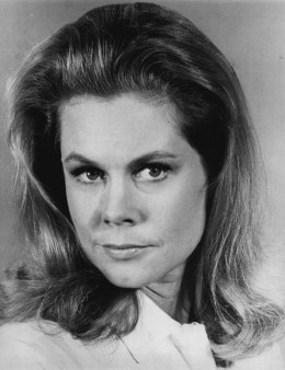 Elizabeth Montgomery  during her time starring on the television series Bewitched.