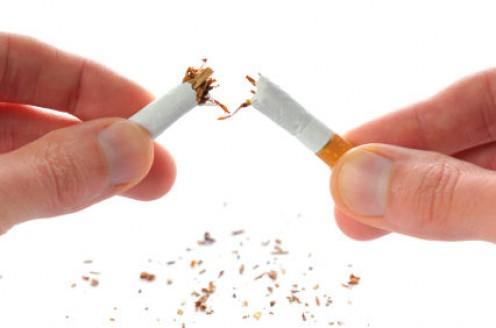 Break your last cigarette and make it  habit.