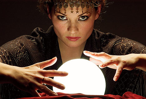 A crystal ball - perhaps the dead look through these to see what is going on on earth?