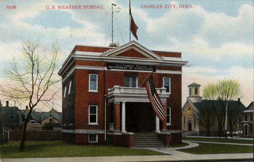 A post card of Charles City, Iowa
