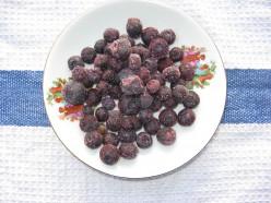 I have always have frozen blueberries in my freezer.