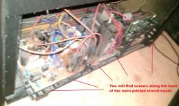 Fig 4.  Loosening Main PCB